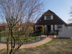 Bild: Friesenhaus Elke 2-5 Personen, Urlaub mit Hund,eingezäunten Garten.